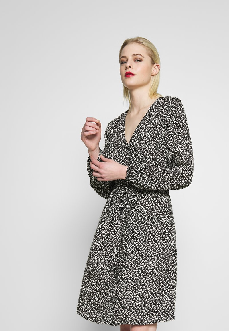 Blendshe - Shirt dress - black