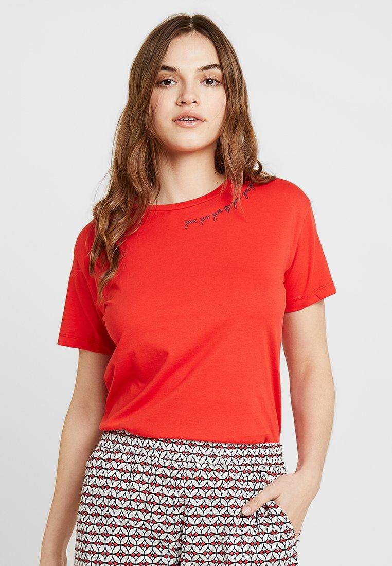 Blendshe - BSBESS PUFF - T-Shirt print - high risk red