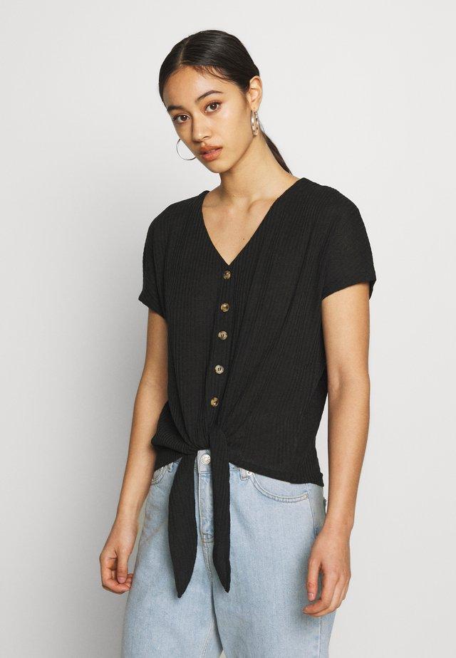 BSPETRINE - T-shirts print - black