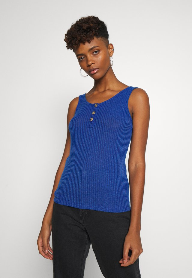 Top - brilliant blue