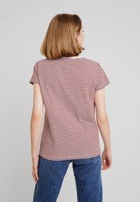 Blendshe - Print T-shirt - fired brick - 2