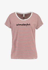 Blendshe - Print T-shirt - fired brick - 4