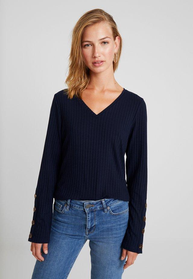 BSGLINDO SLIM - T-shirt à manches longues - peacoat