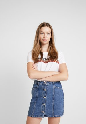 BSCINDA - T-shirt print - bright white