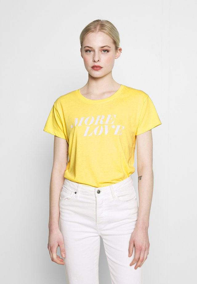 BSLIMBO - T-shirt print - popcorn