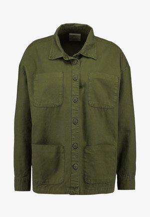 ELENA - Button-down blouse - ivy green