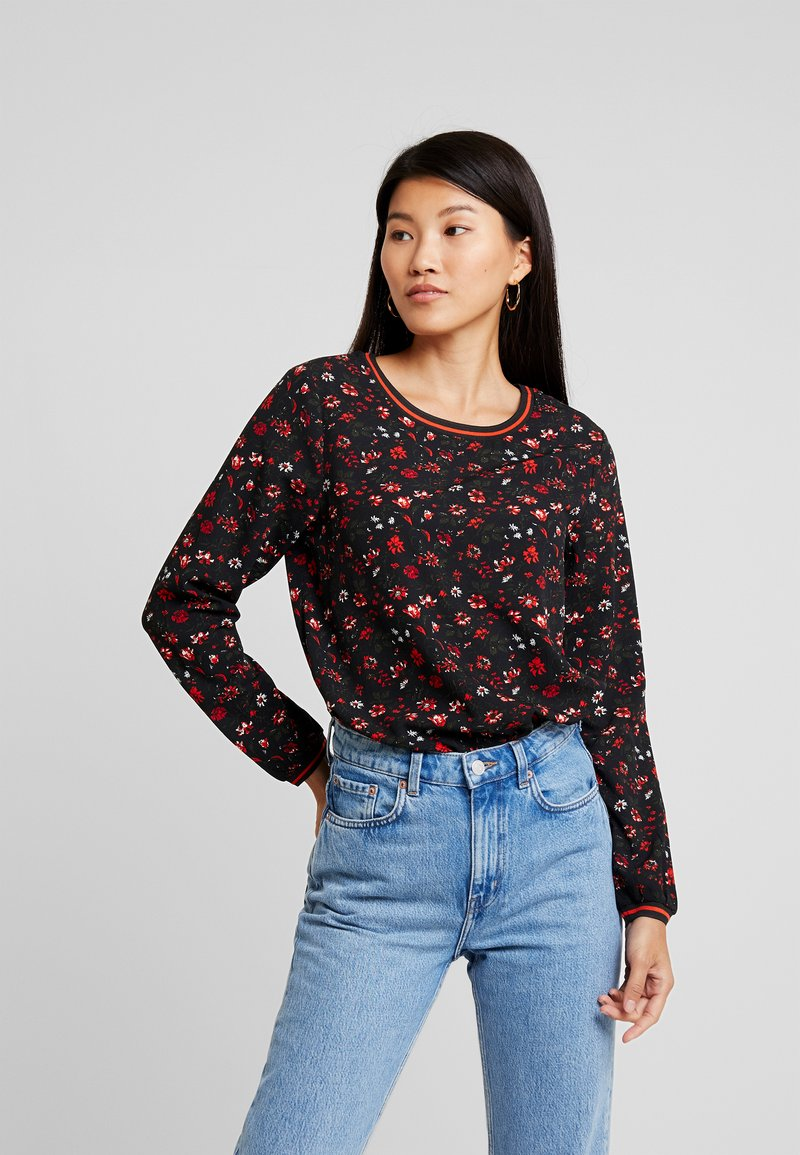 Blendshe - Blouse - black/red
