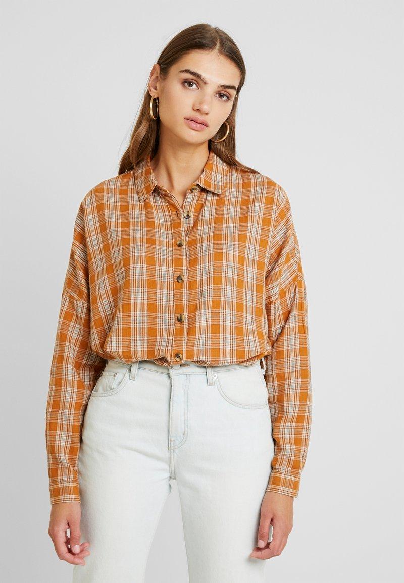 Blendshe - Hemdbluse - buckthorn brown