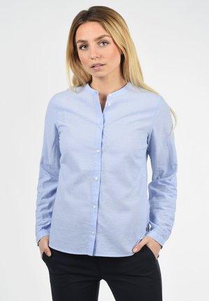 ALEXA - Button-down blouse - blue denim