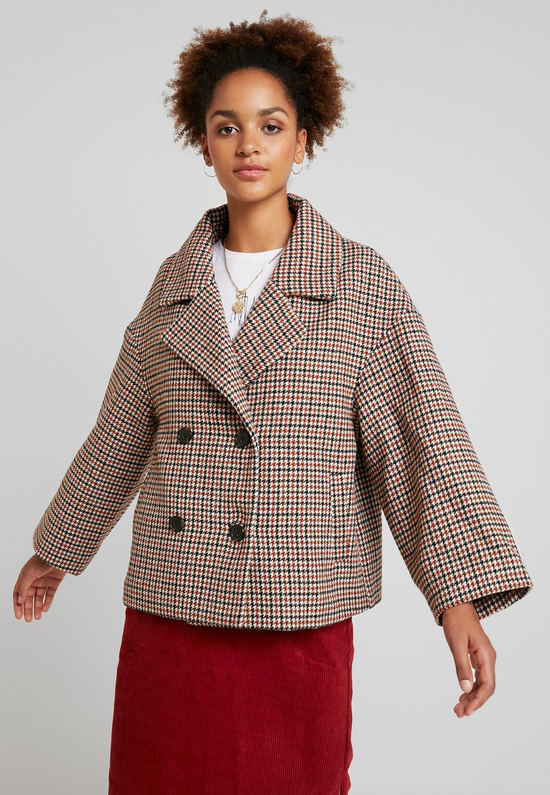 Blendshe - BSEBONY - Wollmantel/klassischer Mantel - multi-coloured