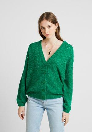 Cardigan - ultramarine green