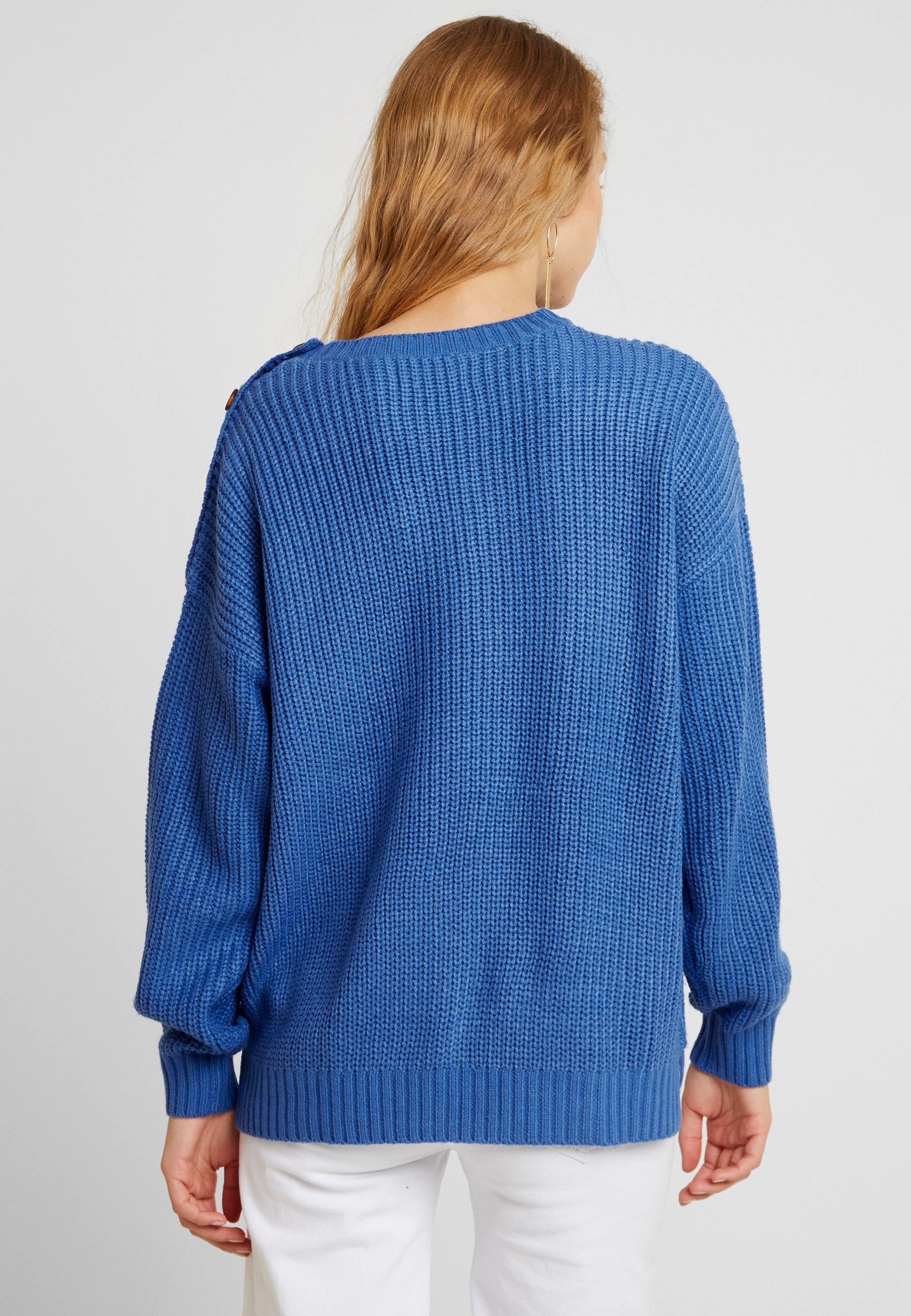 Blue Blue Blendshe ButtonPullover Strong Blendshe Blendshe Strong ButtonPullover ButtonPullover DH2eWEb9IY
