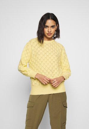 LINAMON - Pullover - yellow