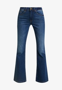 Blendshe - BRIGHT FLARED - Jeans a zampa - indigo blue - 4
