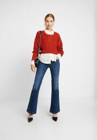 Blendshe - BRIGHT FLARED - Jeans a zampa - indigo blue - 1