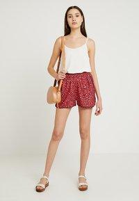 Blendshe - BSBIJOU - Shorts - dark red - 1