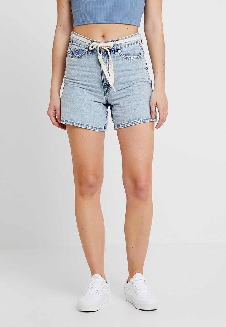 Blendshe - PANDITA MON - Shorts di jeans - bleached in blue