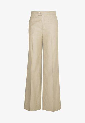MAY PANTS - Spodnie materiałowe - lavender fog
