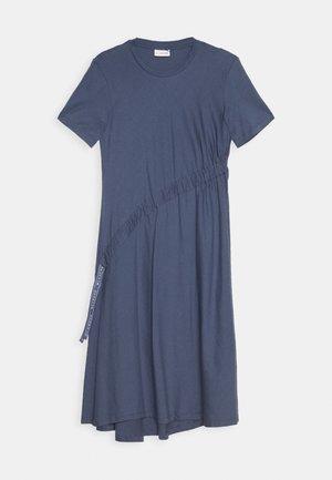 DRAW DRESS - Žerzejové šaty - indigo