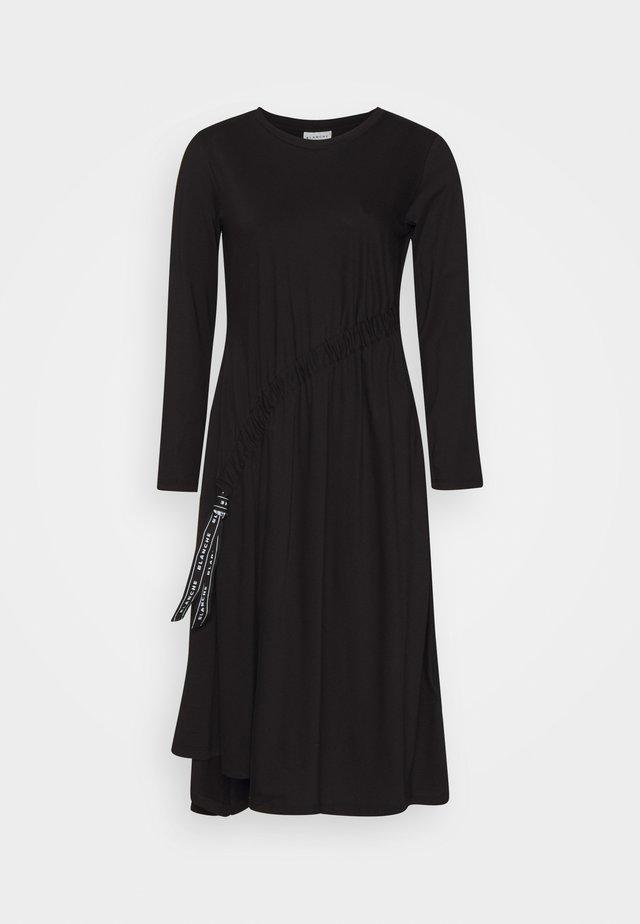 MAIN DRAW DRESS - Jerseyjurk - black
