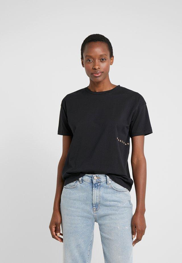 MAIN LIGHT - T-shirt - bas - black