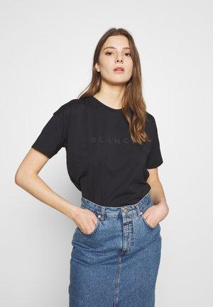 MAIN - T-shirts med print - black