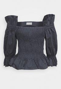 BLANCHE - CIOLA SMOCK BLOUSE - Bluse - graphite - 0