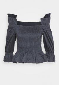BLANCHE - CIOLA SMOCK BLOUSE - Bluse - graphite - 1