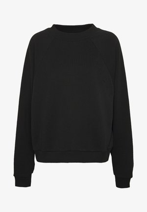 HELLA OVERSIZED EMBOSSED - Sweatshirt - black