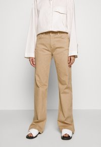 BLANCHE - Flared Jeans - light sand - 0