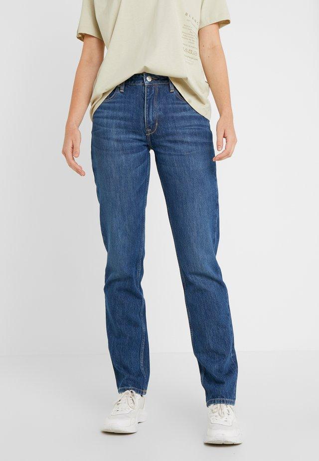AVA PANTS - Jeansy Slim Fit - mid blue