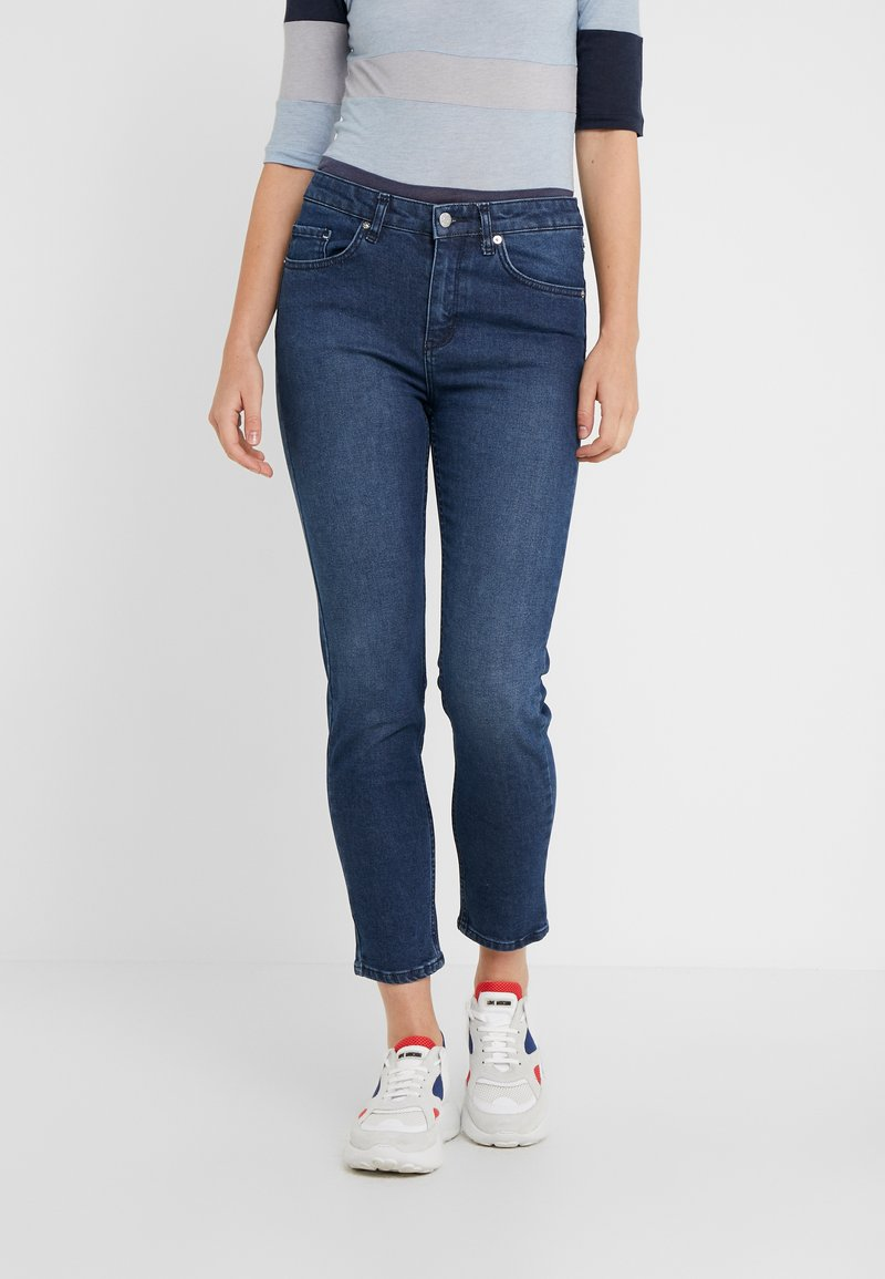 BLANCHE - RAE DARK - Jeans Slim Fit - indigo stone wash