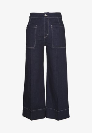 ALANA PANTS - Relaxed fit jeans - rinse denim