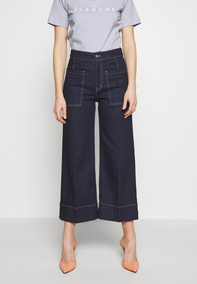 ALANA PANTS - Jeans relaxed fit - rinse denim