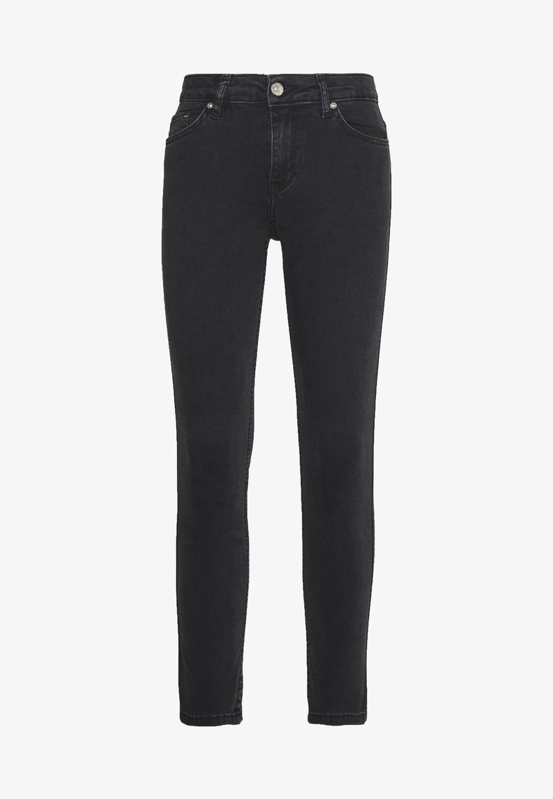 BLANCHE JADE CROPPED - Jeans slim fit - grey stone wash