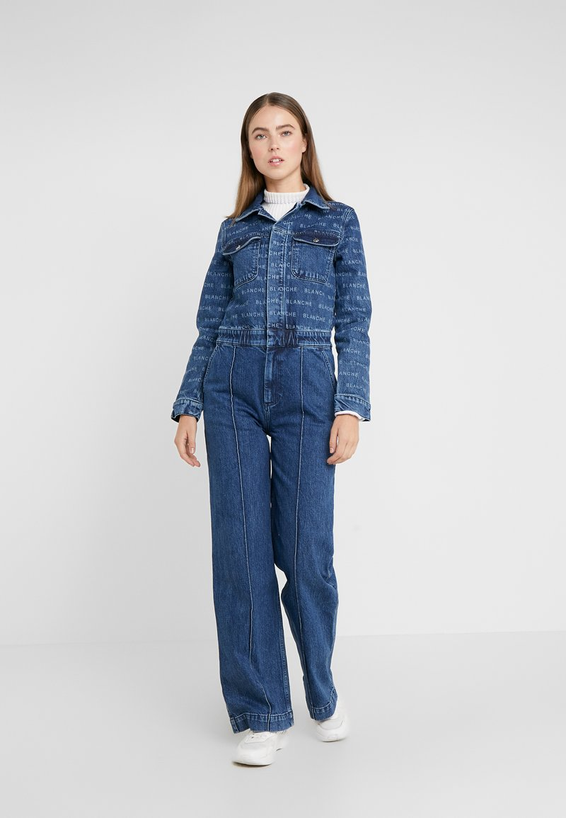 BLANCHE - AUDRA ONEPIECE - Jumpsuit - blue denim