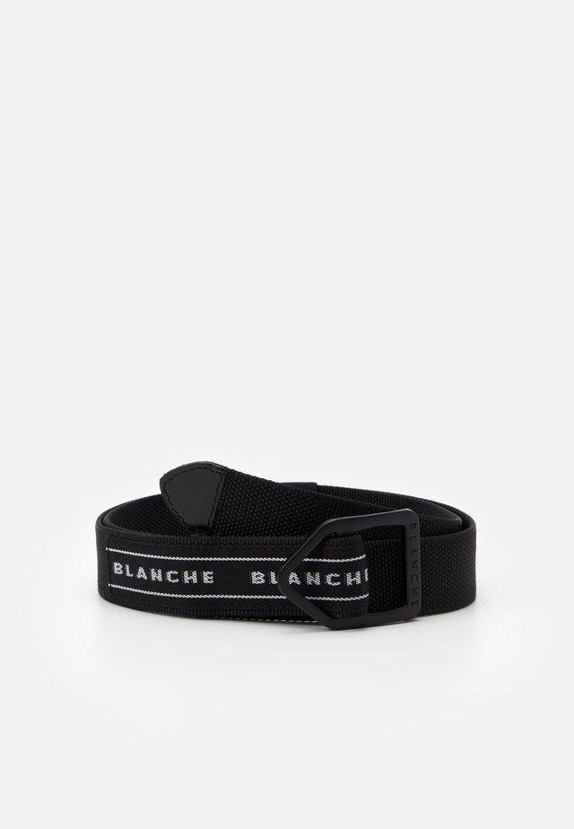 BUCKLE BELT - Pasek - black