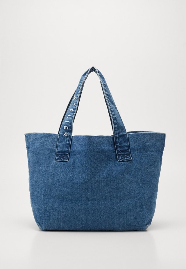 Shopping Bag - vintage blue