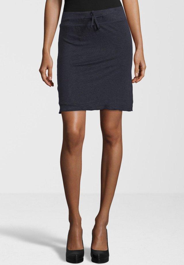 UGADA - Pencil skirt - navy
