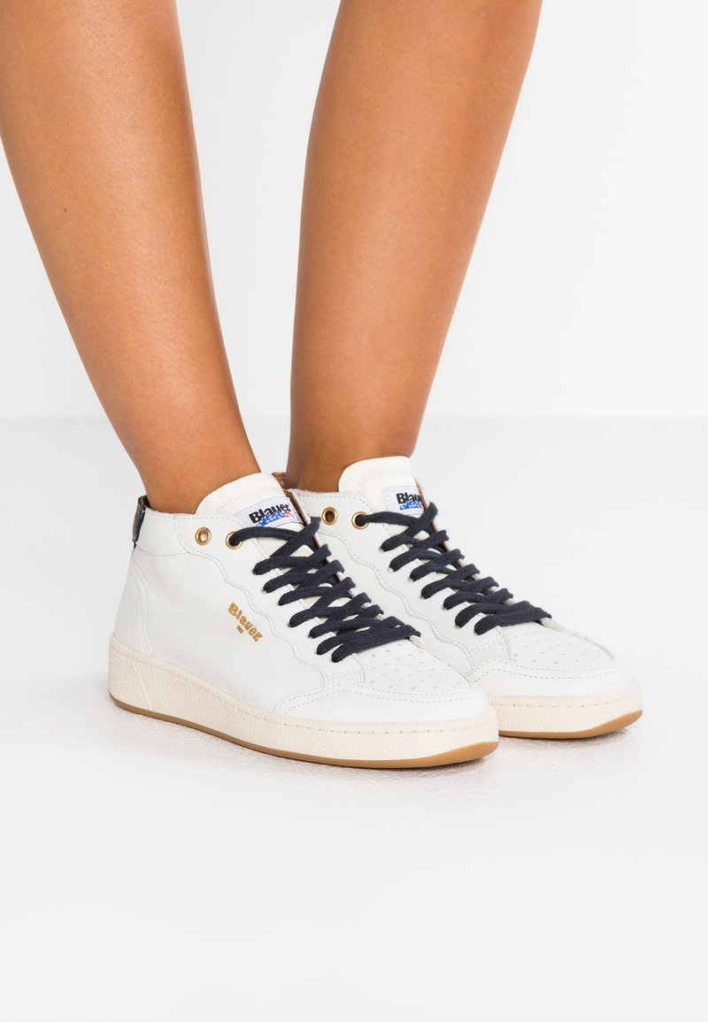 Blauer - Høye joggesko - white
