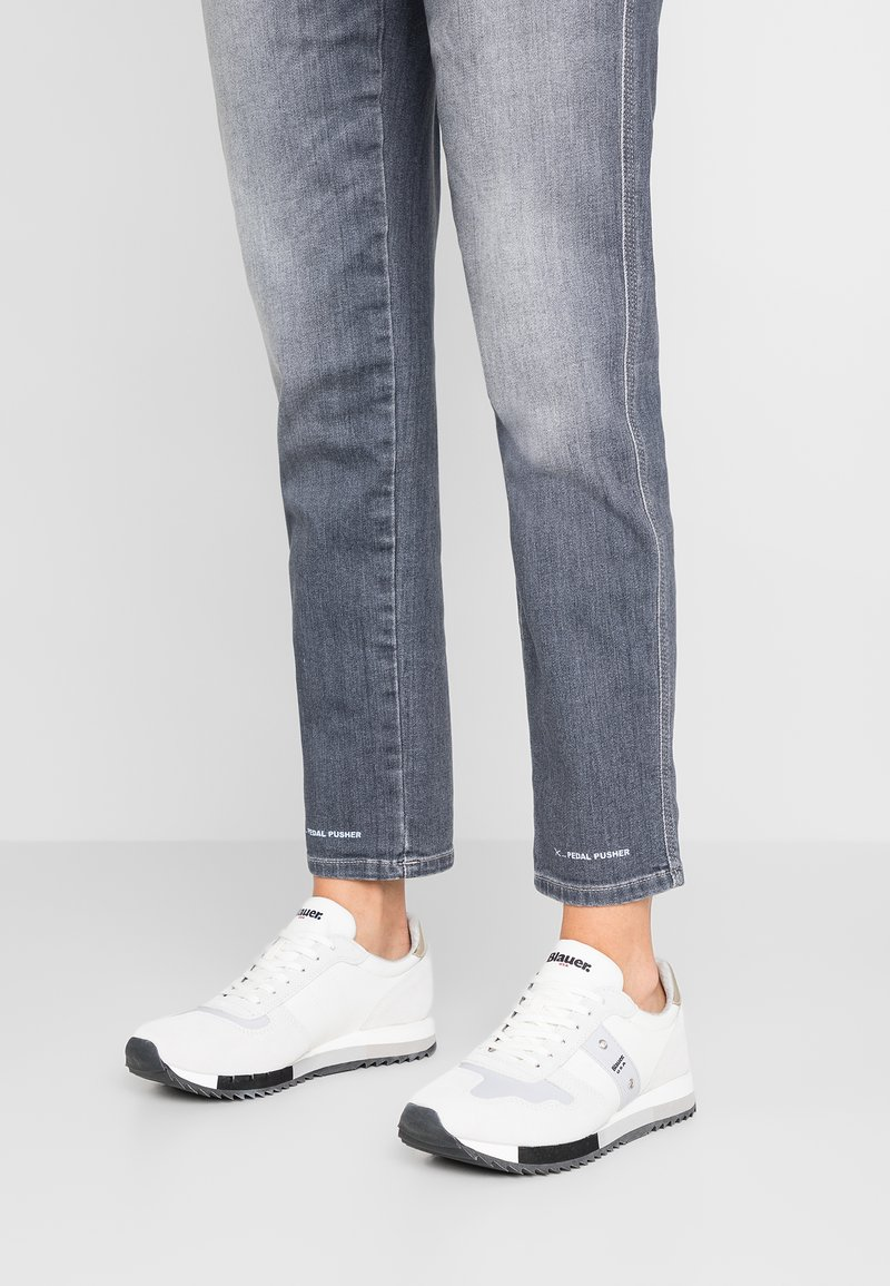 Blauer - Trainers - white