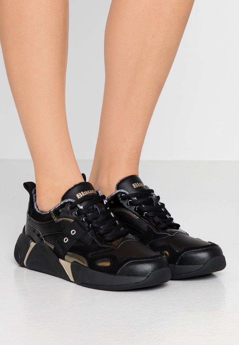 Blauer - Sneakersy niskie - black