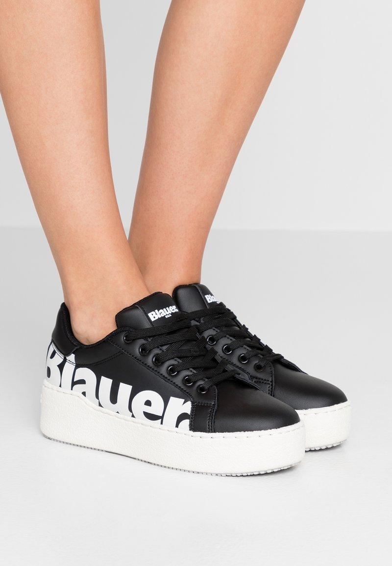 Blauer - MADELINE - Baskets basses - black