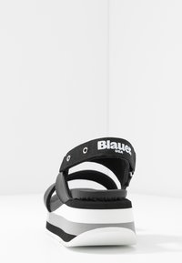 Blauer - CHARLOTTE - Sandales à plateforme - black - 5