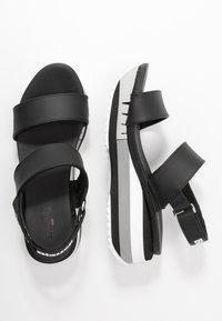 Blauer - CHARLOTTE - Sandales à plateforme - black - 3