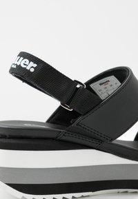 Blauer - CHARLOTTE - Sandales à plateforme - black - 2