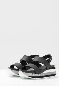 Blauer - CHARLOTTE - Sandales à plateforme - black - 4