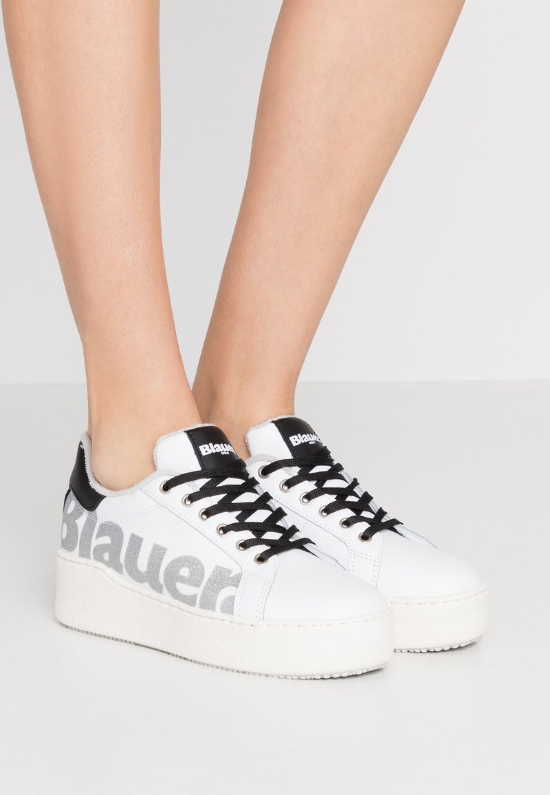 Blauer - MADELINE - Baskets basses - white