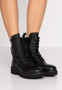 Blauer - IRVINE - Lace-up ankle boots - black - 0