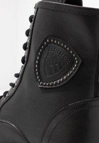 Blauer - IRVINE - Lace-up ankle boots - black - 2